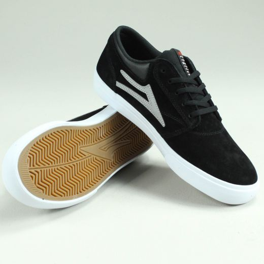 LAKAI GRIFFIN BLACK/REFLECTIVE SUEDE