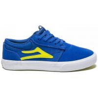 LAKAI GRIFFIN KIDS BLUE YELLOW SUEDE