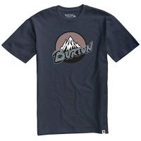 Tricou Burton Retro Mountain Short Sleeve Indigo
