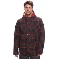 GEACA 686 WOODLAND INSULATED RUSTY RED YARN DYE PLAID