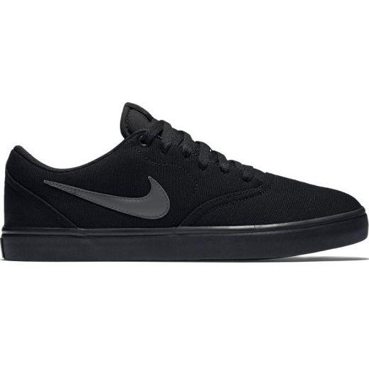 Skate Shoes Nike SB Check Solar Canvas Black Anthracite