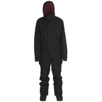 Combinezon Snowboard Ride Fulson Onepiece Black Canvas Wash Out