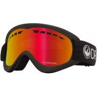 Ochelari Ski si Snowboard Dragon DXS Black / Lumalens Red Ion