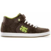 SHOES IPATH GRASSHOPPER COFFEE WHITE SUEDE CANVAS