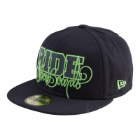 Ride Script New Era Fitted Black