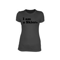 Line Skier Forever Grey