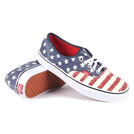 Skate Shoes Vans Authentic Americana Dress Blues