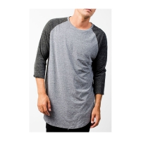 Neff Miller Raglan Charcoal/ Heather