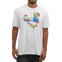 Tricou Neff Abstract Mickey Face White