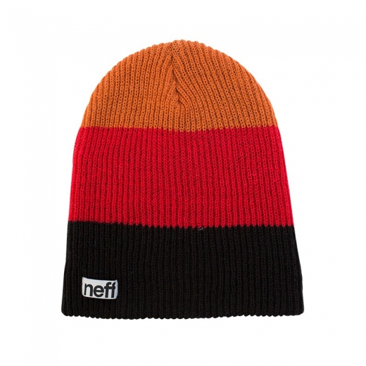 Neff Trio Black/ Red/ Orange