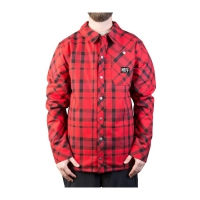 NEFF Jeff Ins Flannel Red