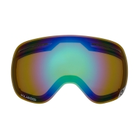 DRAGON X1 Repl Lens Polarized Flash Green