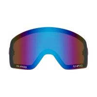 DRAGON NFX2 Repl Lens Polarized Flash Blue