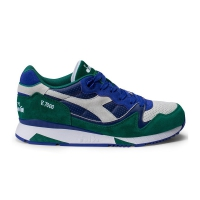 Diadora V7000 Premium royal blue/cadmium green