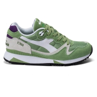 Diadora V7000 NYL II forest shade/amaranth purple