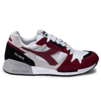 DIADORA I.C 4000 NYL II WHITE TIBETAN RED BLACK