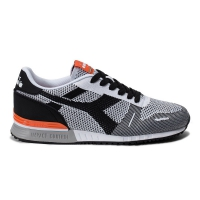 DIADORA TITAN WEAVE BLACK WHITE ORANGE