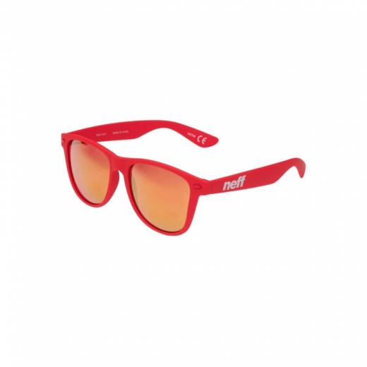 NEFF DAILY SHADES RED RUBBER
