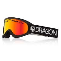 DRAGON DX BLACK / LUMALENS RED ION