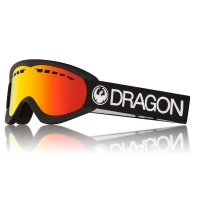 DRAGON DXS BLACK / LUMALENS RED ION