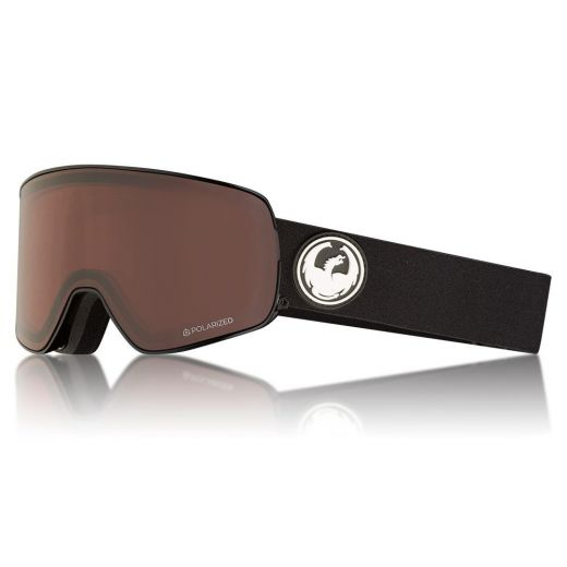 DRAGON NFX2 BLACK / LUMALENS BROWN POLARIZED