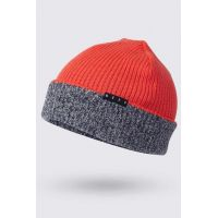 NEFF DOUBLE HEATER BEANIE INFRARED/NAVY