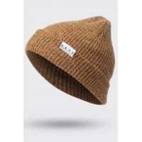 NEFF FOLD HEATHER BEANIE BROWN/TWILL