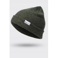 NEFF FOLD HEATHER BEANIE OLIVE/NAVY