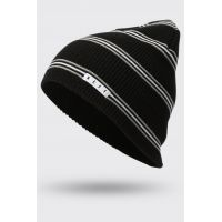 NEFF DAILY STRIPE BEANIE BLACK/GREY/WHITE