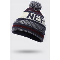 NEFF SAMPION BEANIE NAVY/MAROON/BONE