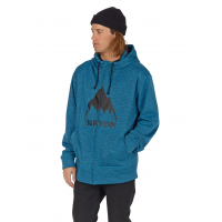 Hanorac BURTON Oak Full Zip Mountaineer Heather